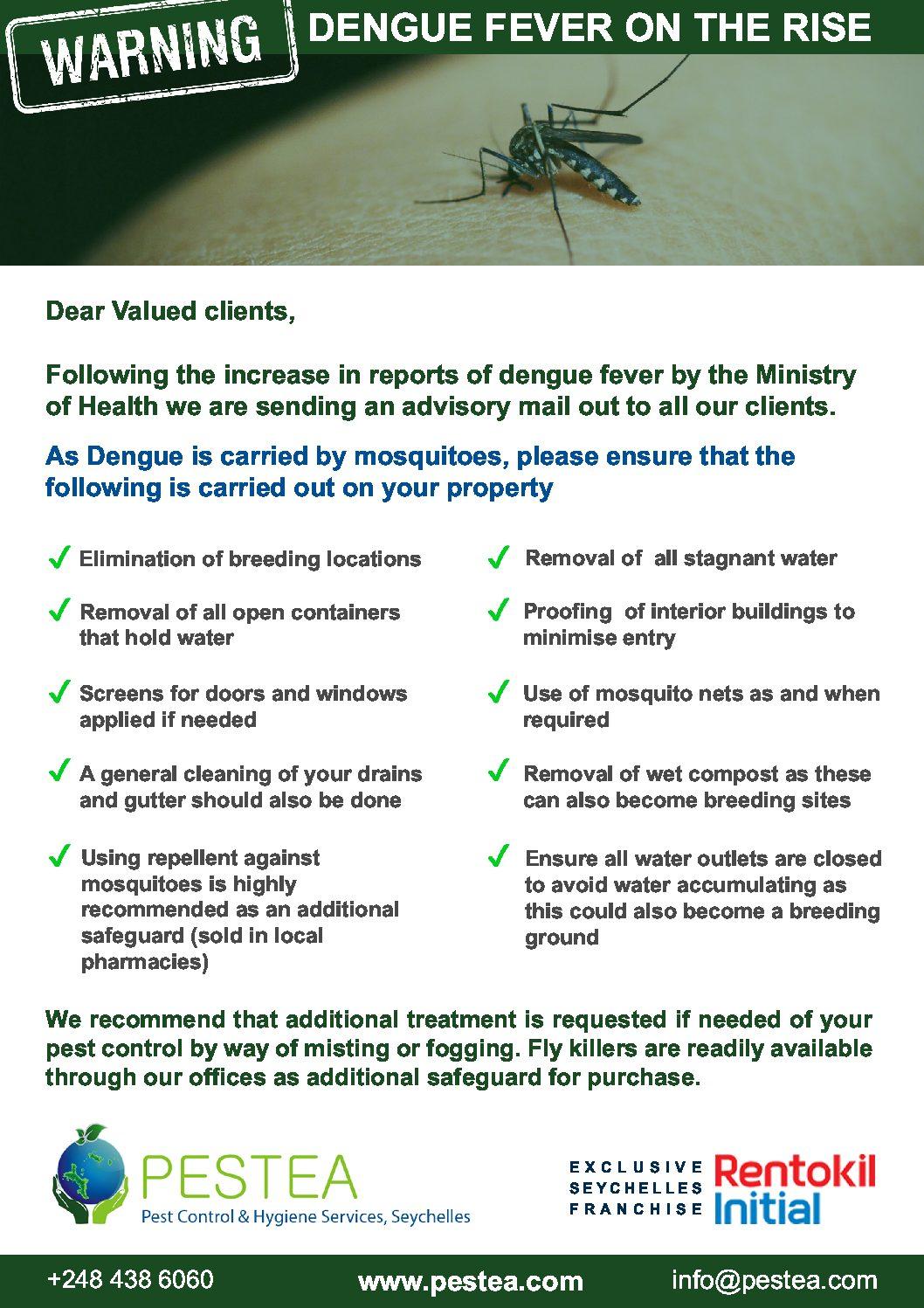 Download - Pestea Mosquito Control Checklist